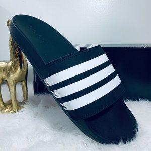 adidas Men Size 10 Comfort Slide Sandal